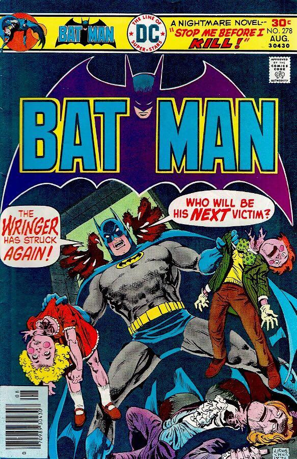 Batman - 278 cover