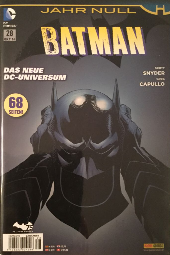 Batman - 28 cover