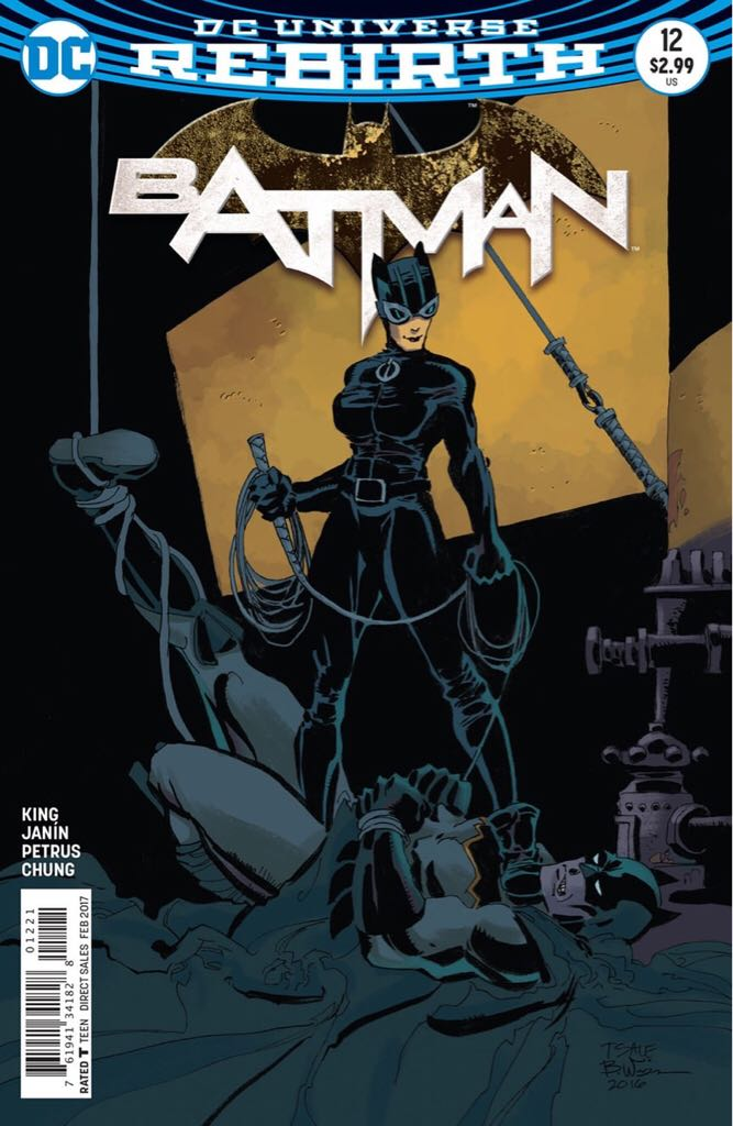 Batman - 12 cover