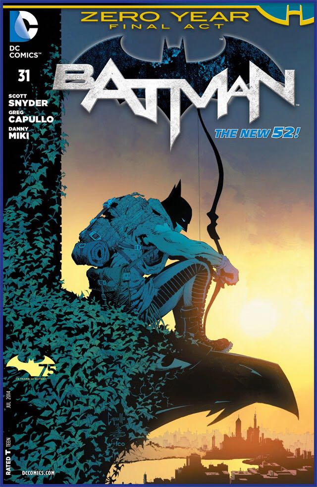 Batman - 31 cover