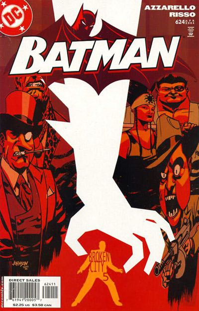 Batman - 624 cover