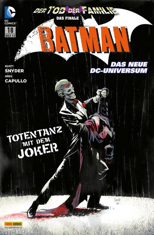 Batman - 18 cover