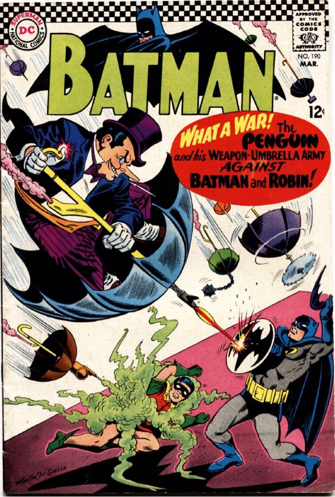 Batman - 190 cover