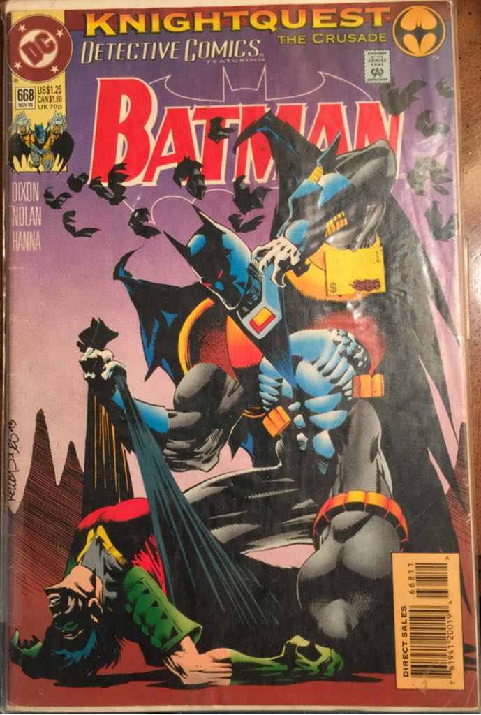 Batman - 668 cover
