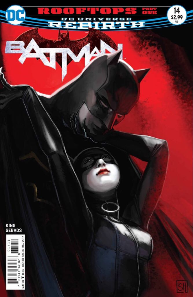 Batman - 14 cover