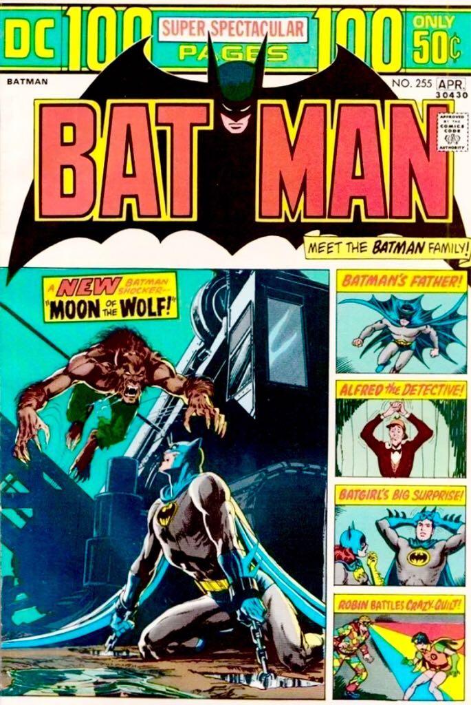 Batman - 255 cover