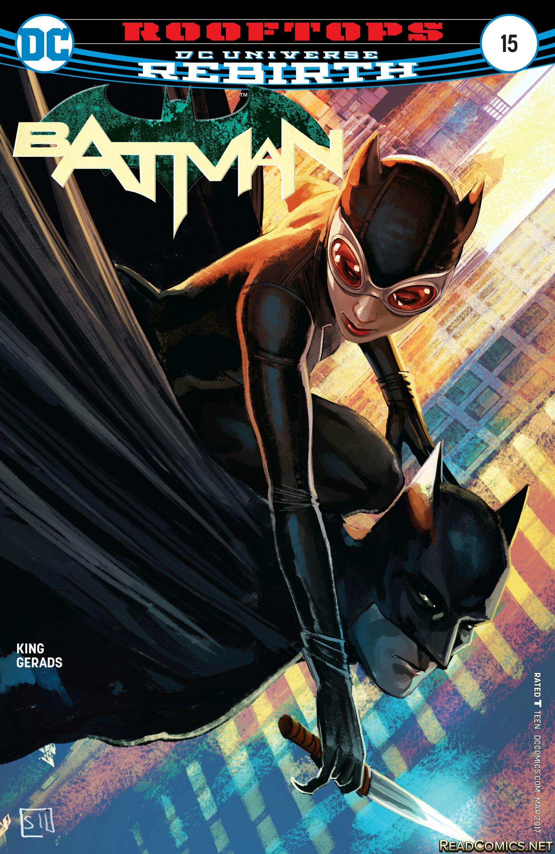 Batman: Rebirth - 15 cover