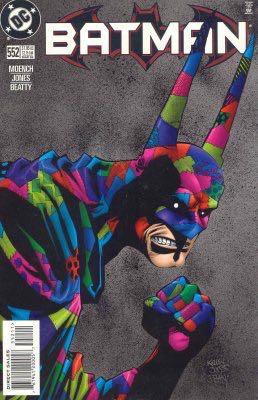 Batman - 552 cover