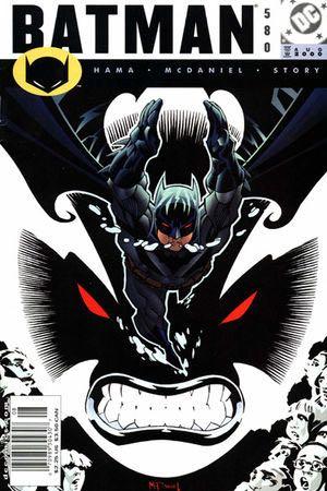 Batman - 580 cover