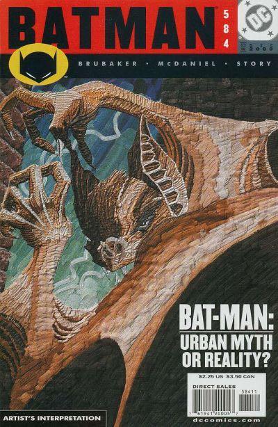 Batman - 584 cover