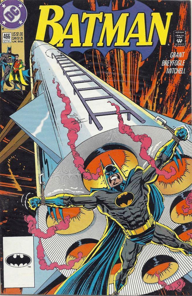 Batman - 466 cover