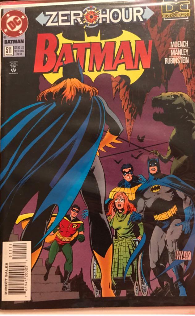 Batman - 511 cover