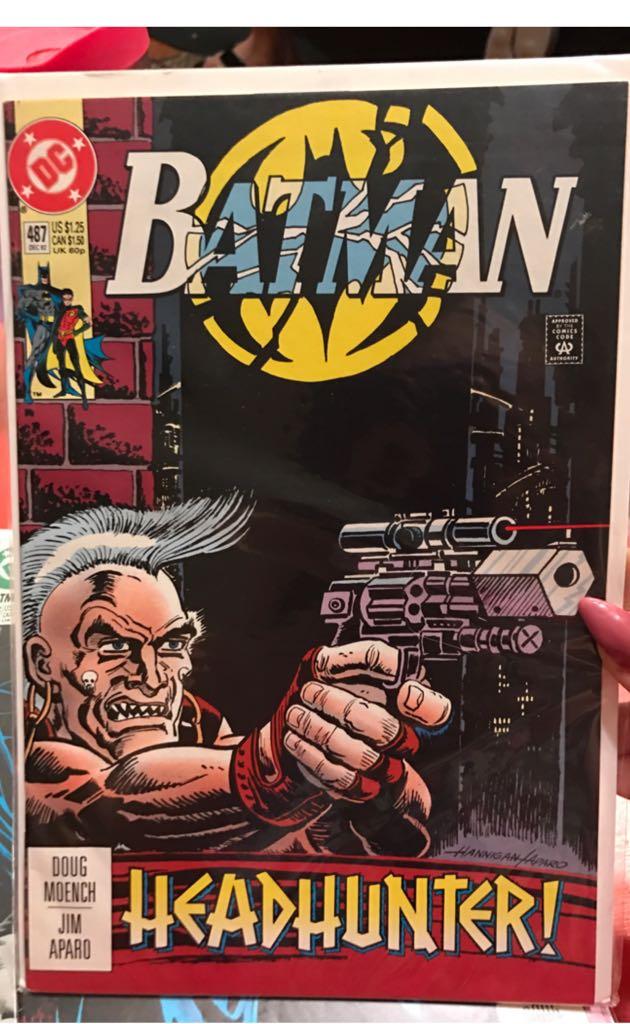 Batman - 487 cover