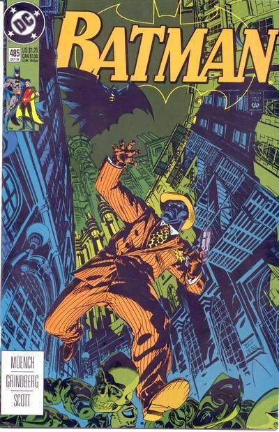 Batman - 485 cover