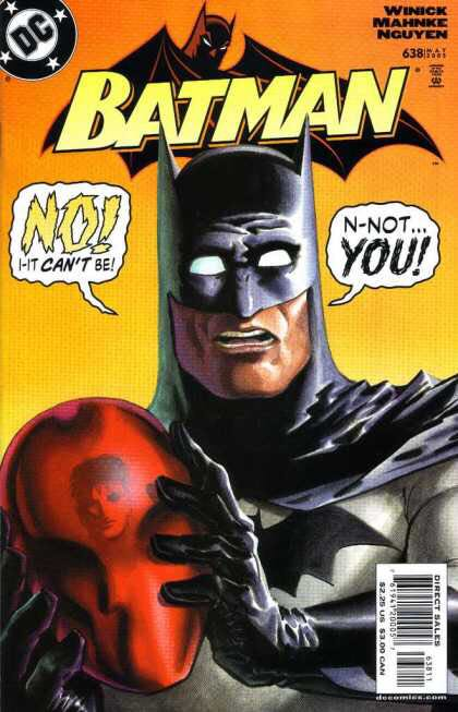 Batman - 638 cover
