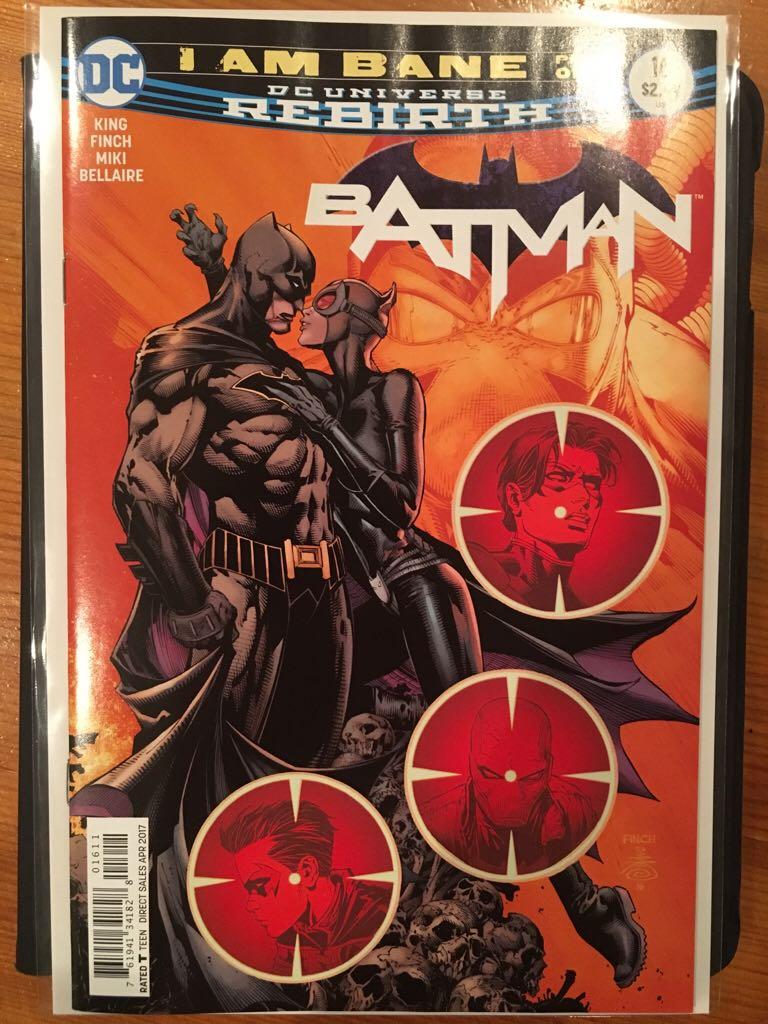 Batman - 16 cover