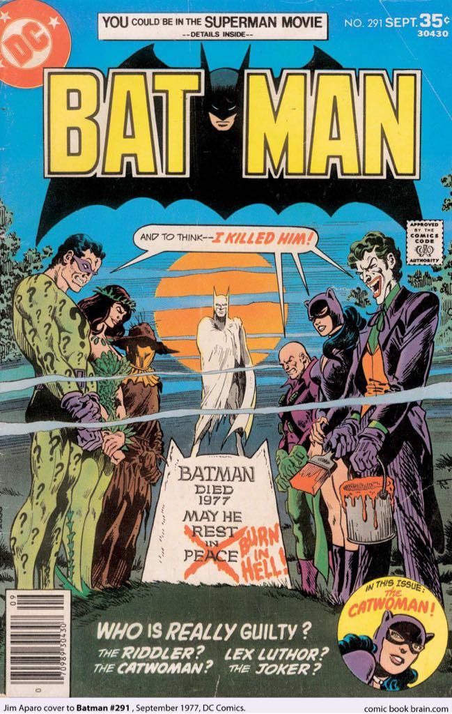Batman - 291 cover