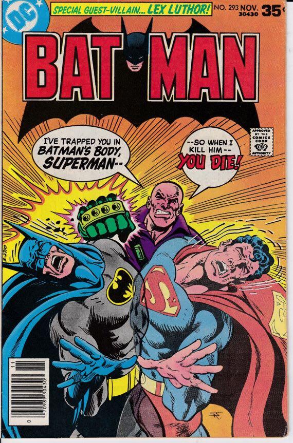 Batman - 293 cover
