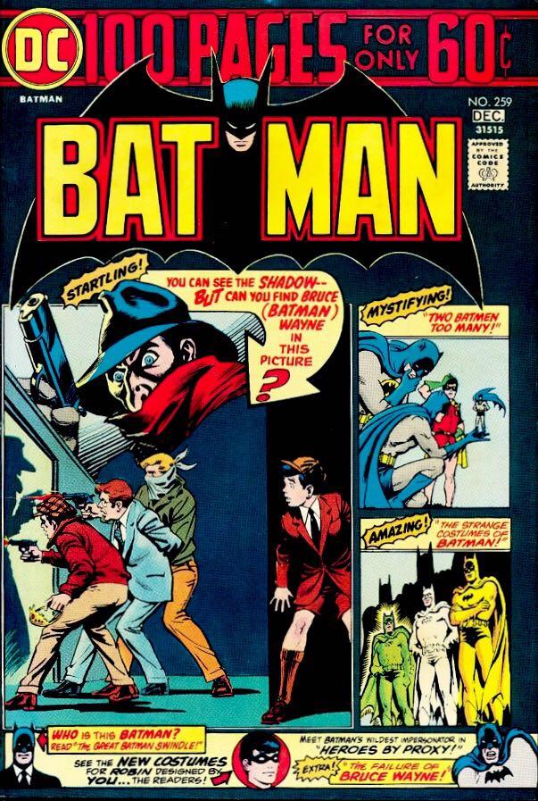 Batman - 259 cover