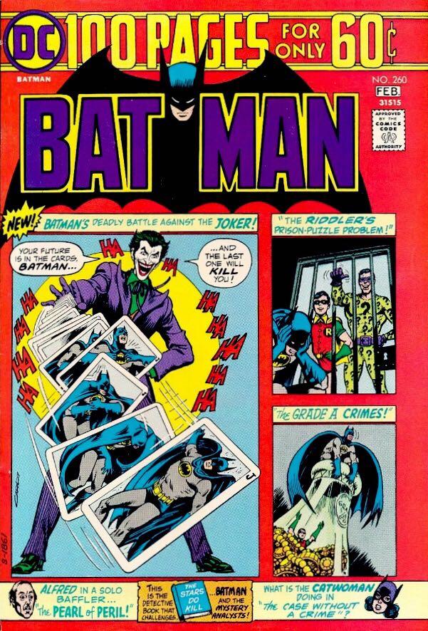 Batman - 260 cover