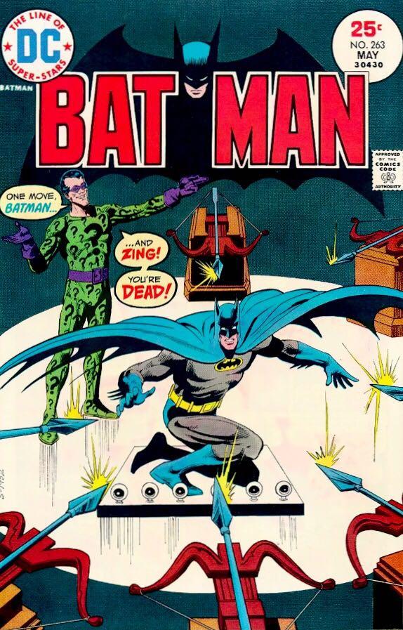 Batman - 263 cover
