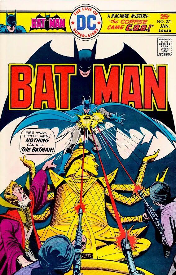 Batman - 271 cover