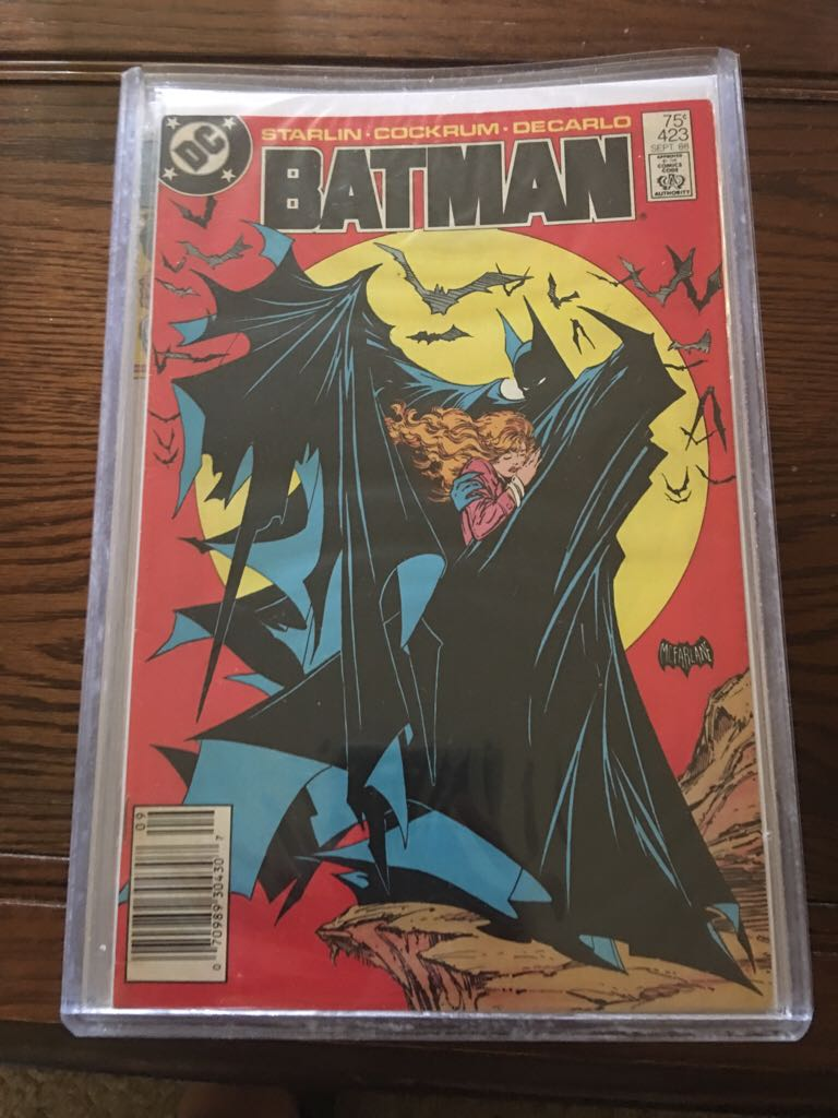 Batman - 423 cover