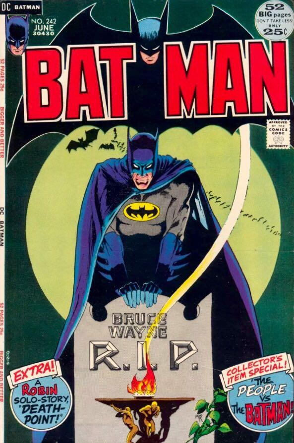 Batman - 242 cover