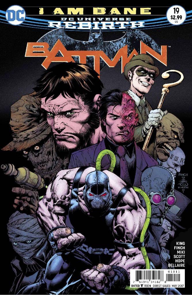 Batman - 19 cover