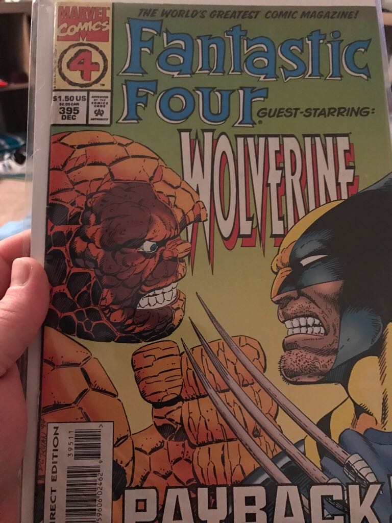Fantastic Four - 395 cover