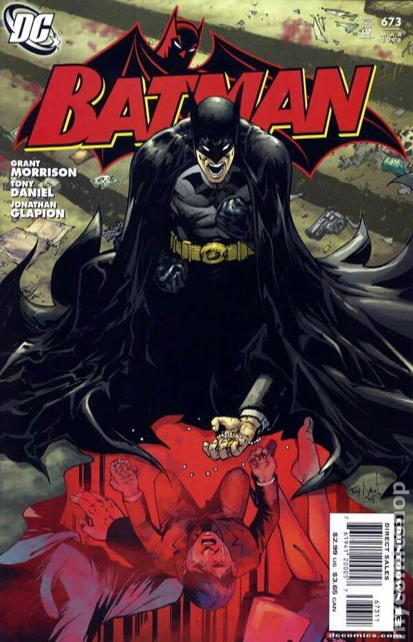 Batman - 673 cover