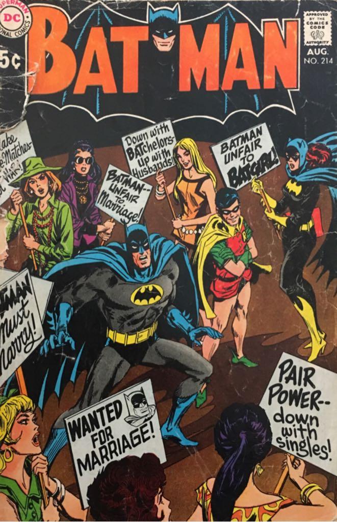 Batman - 214 cover