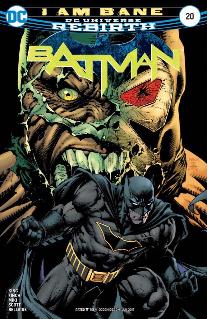 Batman - 20 cover