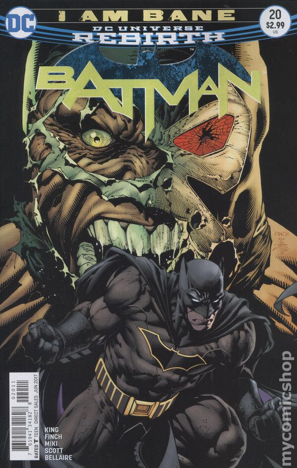 Batman - 20 cover