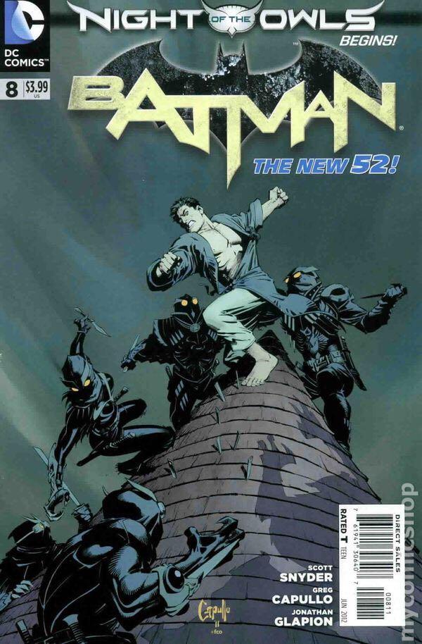 Batman - 8 cover