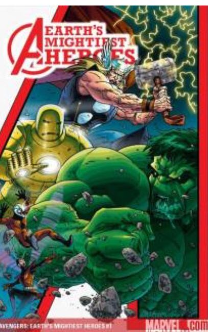 Avengers: Earths Mightiest Heroes - 1 cover