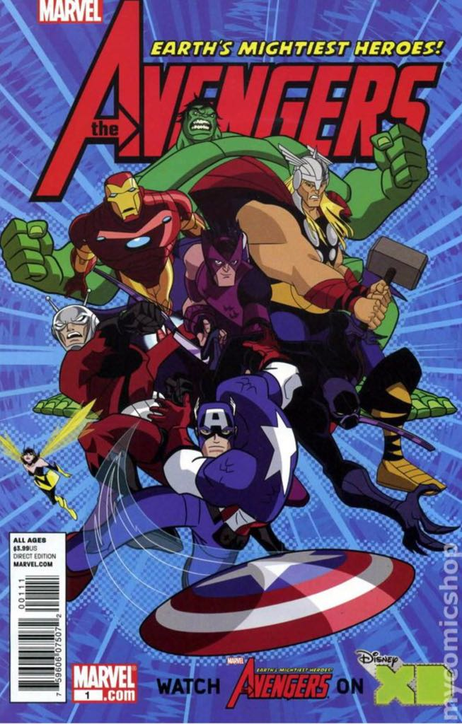 Avengers: Earth's Mightiest Heroes - 1 cover