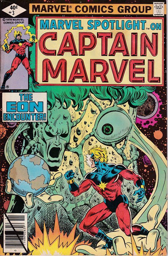 Captain Marvel - 3 cover