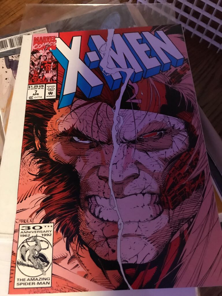 X-Men (1991 1st Series) - 7 cover