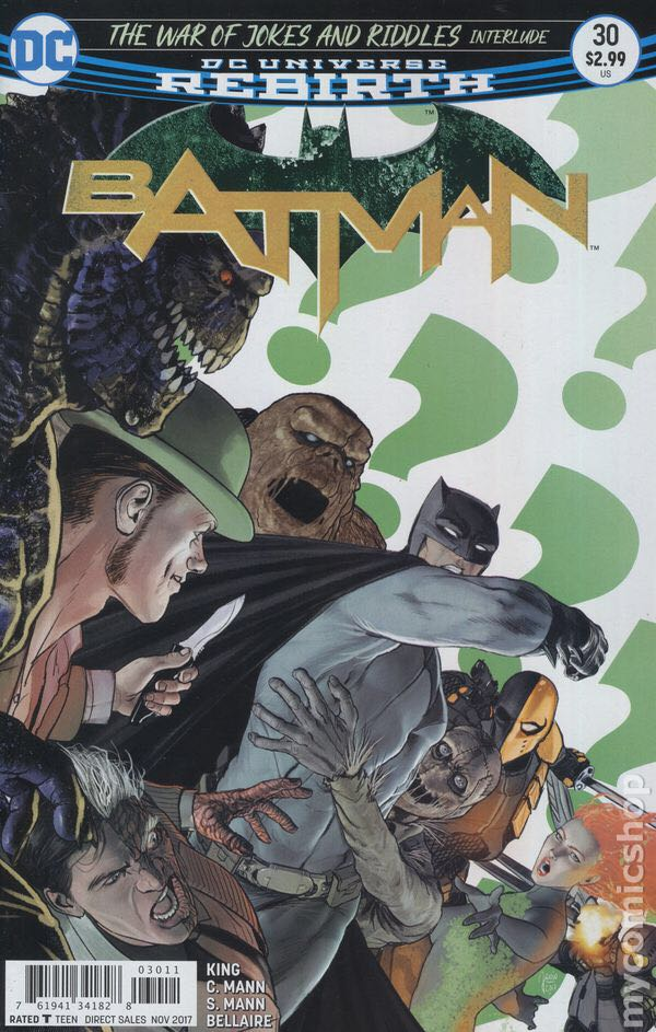 Batman - 30 cover