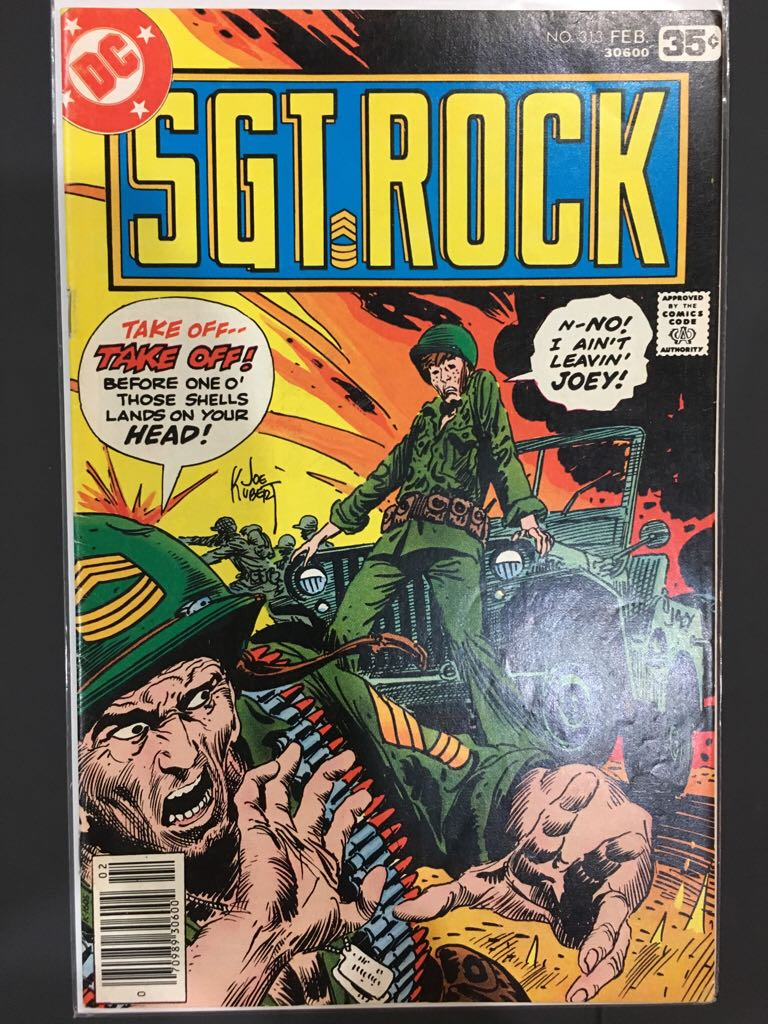Sgt. Rock - 313 cover