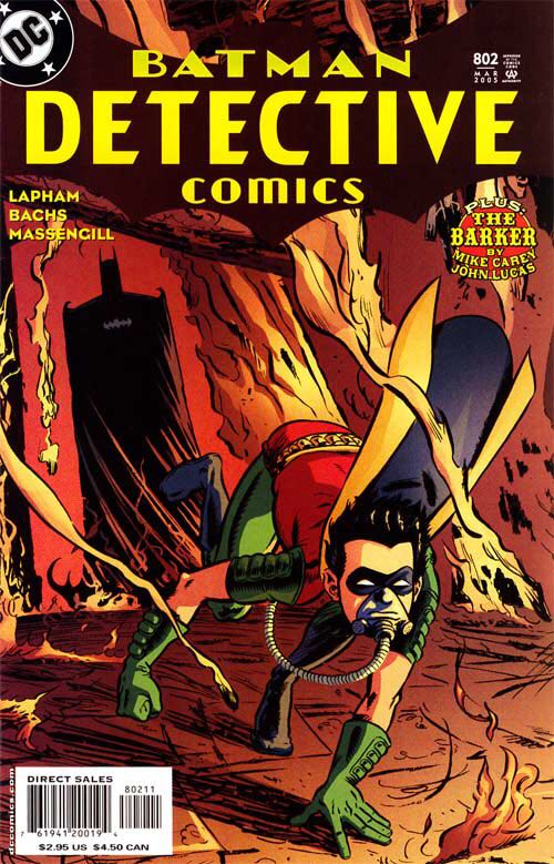 Batman Detective Comics - 802 cover