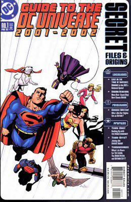 Guide To The Dc Universe 2001-2002 - 1 cover