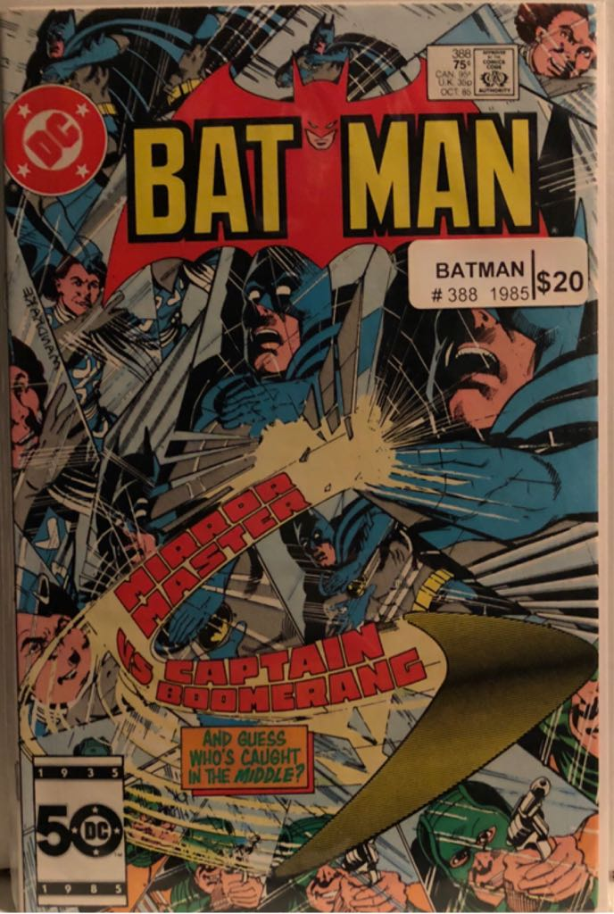 Batman - 388 cover