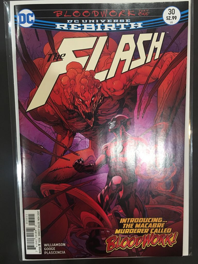 The Flash - 30 cover