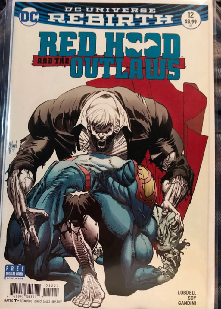 Red Hood and the Outlaws - 12 cover