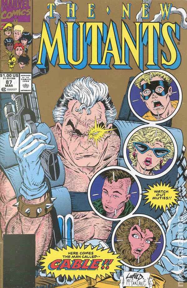 The New Mutants - 87 cover