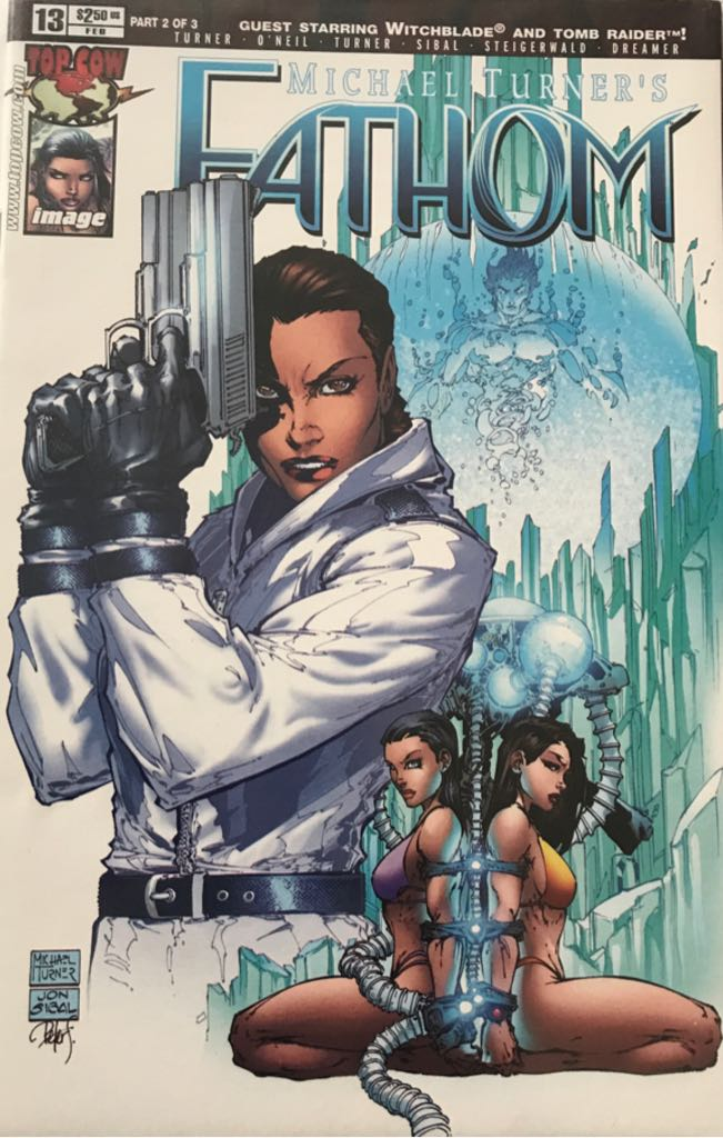 Michael Turner's Fathom - 13 cover