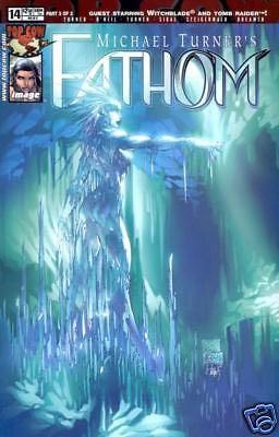Michael Turner's Fathom - 14 cover