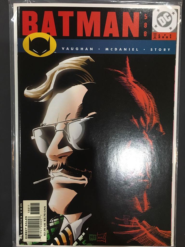 Batman - 588 cover